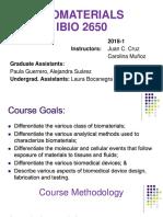 Clase 1 Biomateriales IBIO 2650