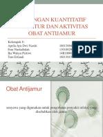 Hubungan Kuantitatif Struktur Dan Aktivitas Obat Antijamur
