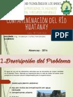 Contamininación Del Río Huatanay