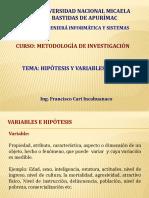 Variables - Hipotesis1