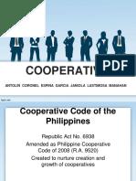 Cooperatives pH