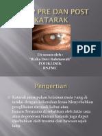 Askep Pre Dan Post KATARAK