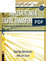 Architects Guide to Implementing a Digital Transformation