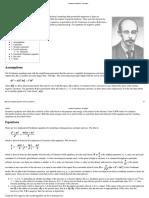 Friedmann Equations