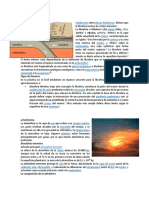Litosfera, Atmosfera, Hidrósfera, Biosfera, Conocimientos