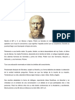DISTINTOS PENSAMIENTOS FILOSOFICOS
