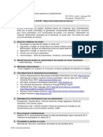 Plan de Cours - Redaction Sc en Anglais-A2016