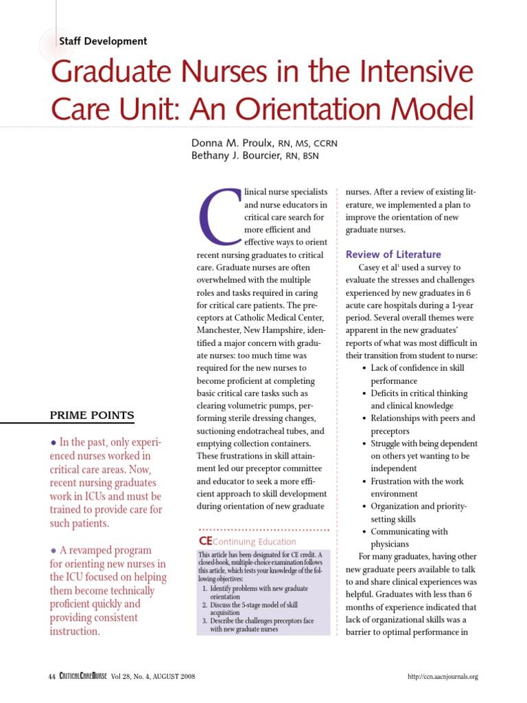 C0843   Intensive Care Unit   Nursing