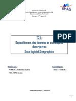 TD1 Sur Statgraphics