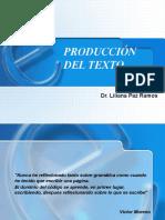 Etapas de La Producción Del Texto