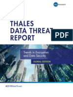 2018 Security Outlook - Potential Risks and Threats (Thales 2016)