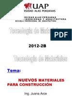 Tema 13- Nuevos Materiales Para Construccion
