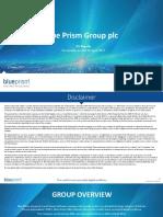 Blue Prism H117 Investor Presentation