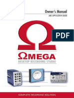 Omega Manual 18-0233V-G Original