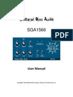 SGA1566 User Manual