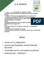 Slide Nutrilite produs miraculos pt ochi Afine si luteina