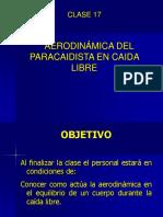 17.Aerodinamica Del Paracaidista en Caida Libre