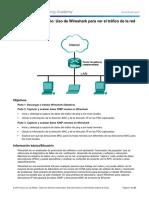 Using Wireshark to View Network Traffic