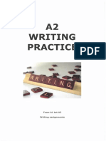 writing practice a1-a2