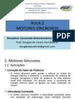 AULA 2 - Aplicação e Técnicas de Partida Do Motor Síncrono