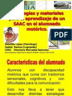 Objetivos y Estrategias Aprendizaje SAAC