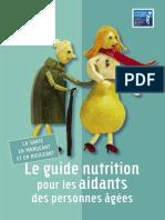 nutrition personnes agés