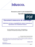 Document Ressource Metrologie Octobre 2013
