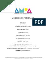 Music Theatre Monologues - FEMALE.pdf