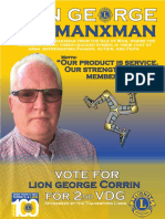 Lion George the Manxman