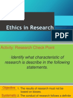 Lesson 5 Ethics in Research