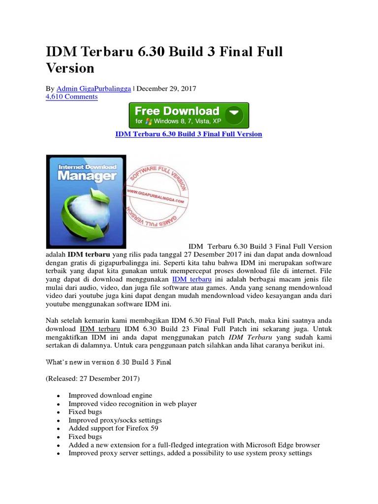 free download internet download manager terbaru full version with crack