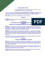 Resolucion No. 22-2003 Reglamento de La Maternidad de La Trabajadora