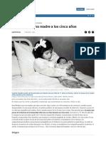 Lina Medina, Una Madre a Los Cinco Años _ Cronica