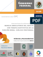 8.- Imss 642-13 Intervenciones de Enf. en El Manejo Ambulatorio Del Paciente Con Terapia Sustitutiva de La Funcion Renal-dialisis Peritoreal
