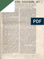 1840 Guerra de Los Supremos Desde Santa Rosa de Viterbo BN, F. Pineda 888, Pza. 35