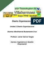 Diseño Organizacional Unidad 2