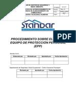 07. Procedimiento Sobre El Uso de Equipo de Protección Personal Tanque Comb