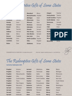 Redemptive Gifts of States 2017