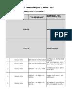 Pembetulan Tapak k1k2 Tahun 2 Dan 3 Saringan 2 2017 Ppd Kuala Krai - Skse