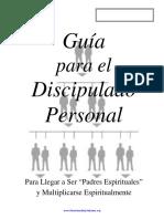 Guia Para El Discipulado Personal