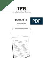IFB Senator 6 Kg.