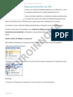 UNIDAD DIDÁCTICA 18. CREAR CUADROS DE DIÁLOGO PERSONALIZADOS