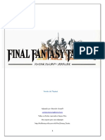 Final Fantasy Tactics (v. Playtest) - Biblioteca Élfica
