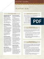 WotR Player Aid 2nd Ed