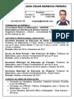 Currículo Educativo Jean Pereira