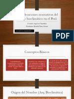 Consideraciones Normativas Del Diseño Bioclimático en El Perú