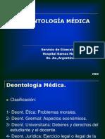 DEONTOLOGIA MÉDICA