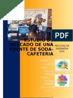 Estudio de Mercado Fuente de Soda