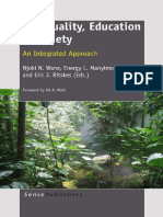 Njoki N. Wane, Energy L. Manyimo, Eric J. Ritskes-Spirituality, Education & Society_ an Integrated Approach -Sense Publishers (2011)