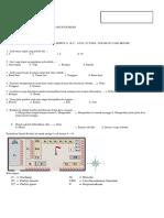 Soal IPS Kelas 3 SD Bab 2 Denah Rumah Dan Sekolah Dan Kunci Jawaban